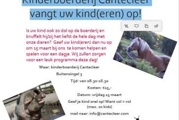 Kinderboerderij Cantecleer vangt uw kinderen op
