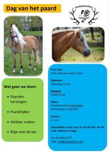 Dag van het paard: 12 juli 2021