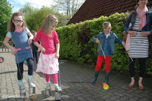 Jeugdclub: Thema Hollandse spelletjes. 3 september